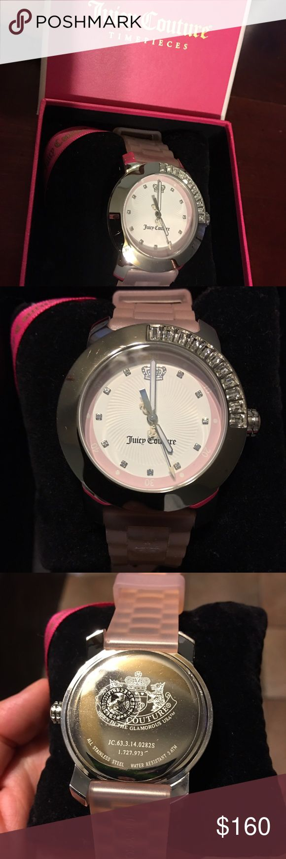 ♨️24hr SALE♨️ Juicy couture watch New with tags juicy couture watch the battery need to be replace and it has a small scratch on the back Juicy Couture Accessories Watches