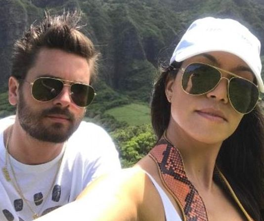 Kourtney Kardashian and Scott Disck spotted together