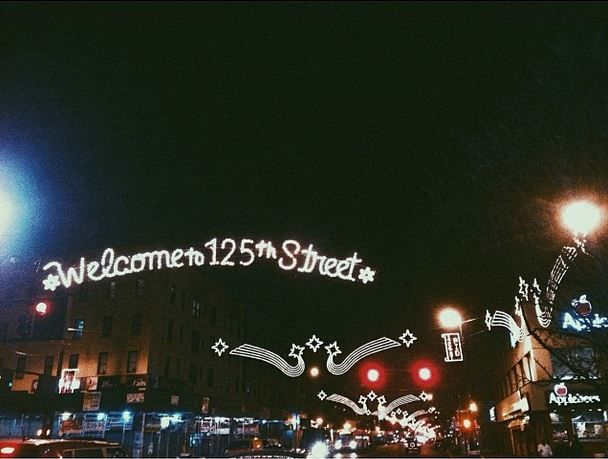 """For a more """"New York"""" New York trip, check out 125th street! It's Harlem's main drag with tons of soul food restaurants, historic jazz clubs, and overall cheaper prices! #travel #nyc #manhattan #harlem"""