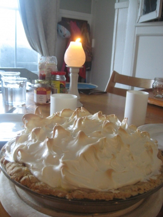 Gluten & Dairy free Lemon Meringue Pie (Corn free if using Earth Balance shortening for butter)
