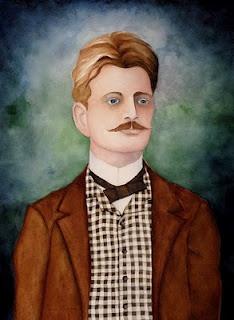 Jean Sibelius, portrait by Lorena Bowser.