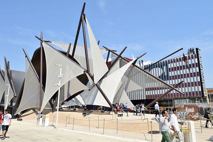 Kuwayt pavilion at Expo Milan 2015 #raiexpo #expo2015 #italy #milan #worldsfair #architecture #kuwayt #pavilion