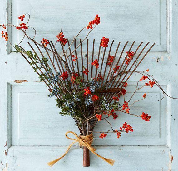 Was für eine originelle Dekoration kann man selber im Herbst basteln?