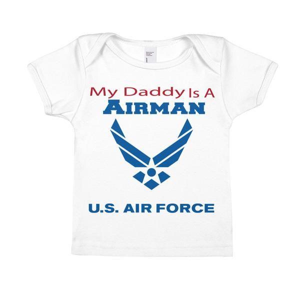 My Daddy is an Airman - Infant Short-Sleeve Tee