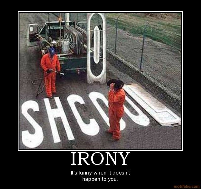 A creative lure about Irony?