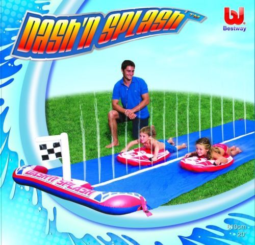 Bestway-16-ft-Rally-Pro-Water-Slide-family-outdoors-fun