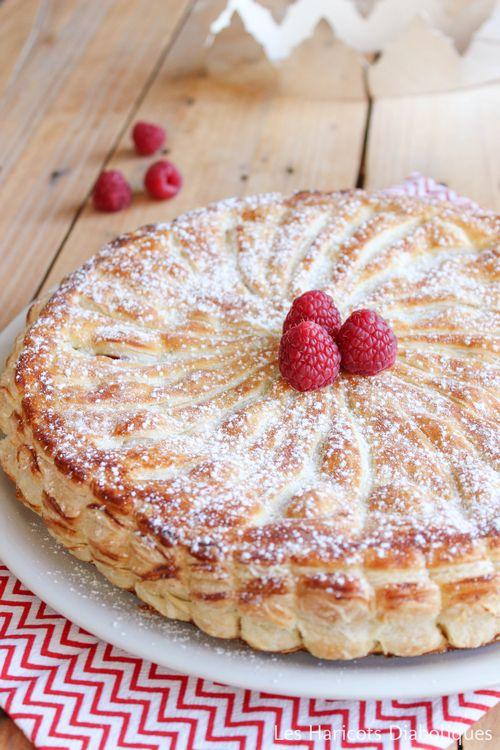Galette crème d'amandes framboises (2)