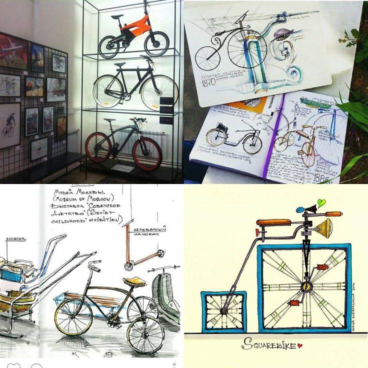 А мы с #lustraschool и #polymus рисуем в воскресенье ретро-велосипеды! Присоединяйтесь, будем копаться в детальках, учиться замечать незамечаемое и разбирать линии и тени. Подробности - в @lustraschool под любым из моих скетчей! . #изобретаявелосипед #bike #bicycle #drawing #urbansketch