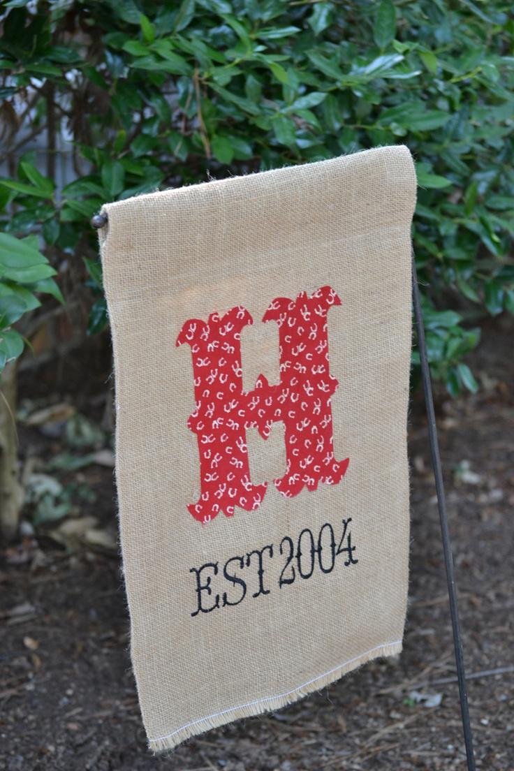 Las 25 mejores ideas sobre bandera de patio de yute en for Banderas decorativas para jardin
