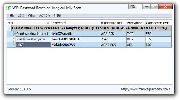 WiFi password revealer | Magical Jelly Bean