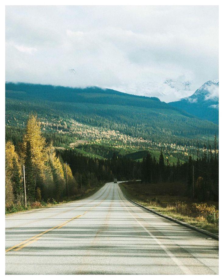 Toward Beautiful British Columbia.  2016 Autumnal roadtrip