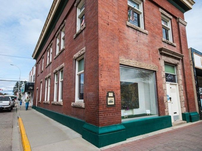 Commercial Property for Sale - 3023 30 AVE, Vernon, BC V1T 2C1 - MLS® ID 10062923.  Fully tenanted. Beautiful brick building on the City of Vernon Heritage List. Great corner location on Main Street