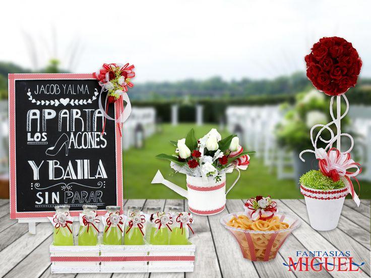 ¡¡ Vive al máximo el día de tu boda y has que sea único e irrepetible, así como todos los accesorios para la fiesta !!