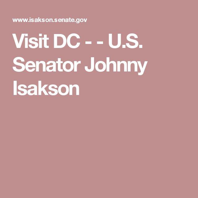 Visit DC -  - U.S. Senator Johnny Isakson