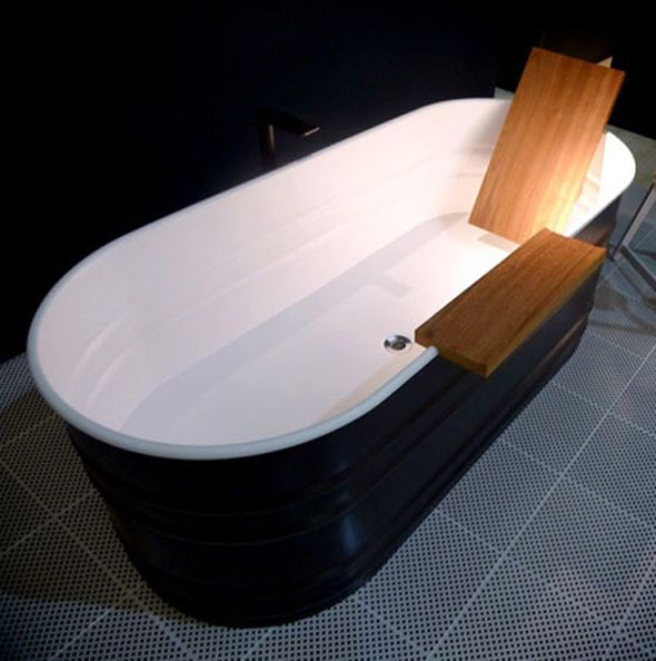 Tiny Bathtubs With Rack Teak Accessories And Backrest