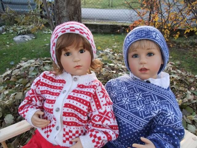 Dolls by Sissel Bjorstad Skille, photographed by Mai Britt.