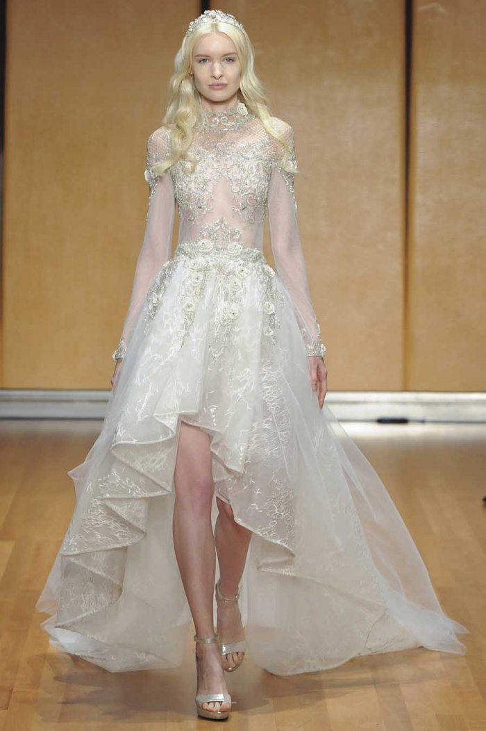 Les 30 robes de mariée les plus tendances de 2017 - La robe mulet façon princesse, imaginée par Inbal Dror.© Imaxtree