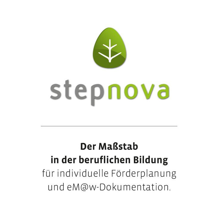 stepnova ist DAS Dokumentationstool auf dem Markt. Mit über 1000 zufriedenen Einrichtungen ist stepnova die beliebteste Software in der beruflichen Bildung. Webbasiert und universell einsetzbar, weist stepnova das höchste Sicherheitsniveau auf, das es momentan am Markt gibt.