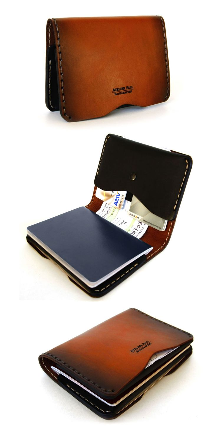 truly versatile passport wallet - handcrafted by AtelierPall.com