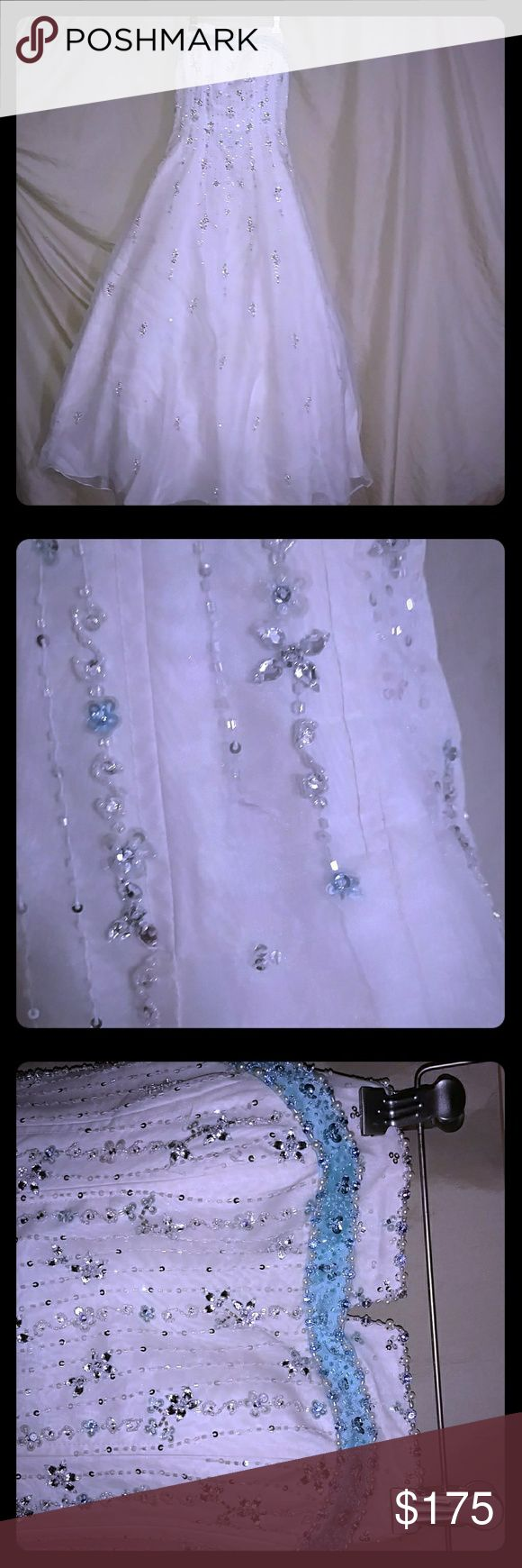 Selling this Mori Lee Prom Dress on Poshmark! My username is: almajew. #shopmycloset #poshmark #fashion #shopping #style #forsale #Mori Lee #Dresses & Skirts