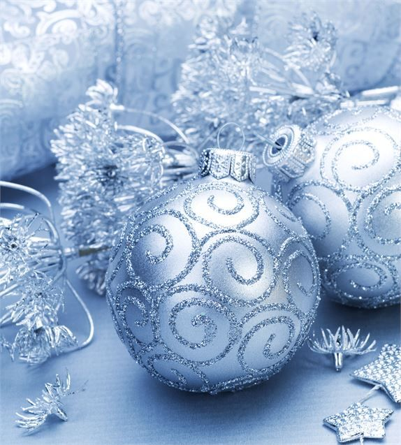17 Best Images About Light Blue Christmas On Pinterest