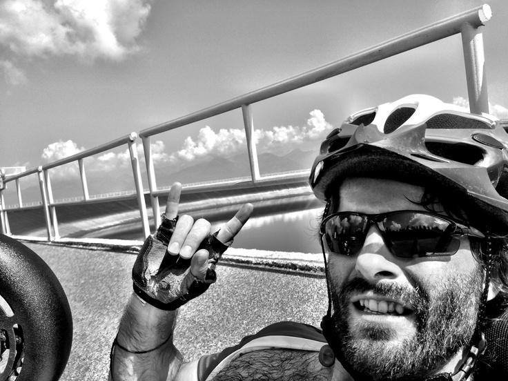 Cierny Vah handbike trip 1200m.n.m. http//:www.marianligda.com