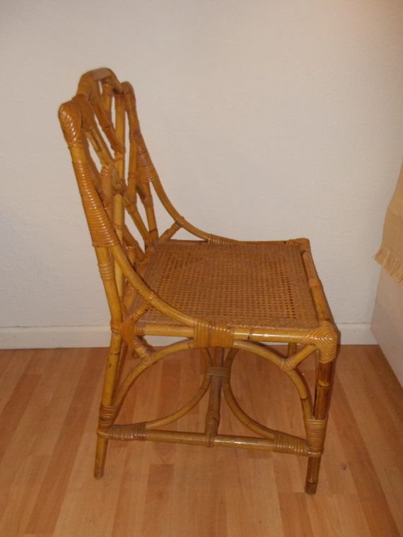 1000 Images About Vintage Rattan Chairs On Pinterest