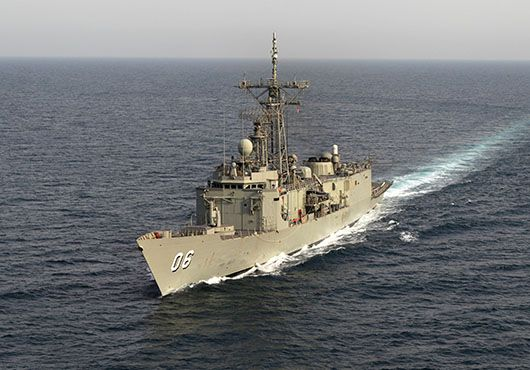 Royal Australian Navy ship HMAS Newcastle completed a week-long maritime security patrol in the Arabian Gulf.Assigned to multi-national Combined Task Force 152(CTF 152),Newcastle patrolled the gulf looking for signs of terrorist & destabilising activity.Newcastle's Boarding Parties conducted 23 maritime security boarding ops during the patrol,to collect 'patterns of life' intelligence & build rapport with local fishermen.