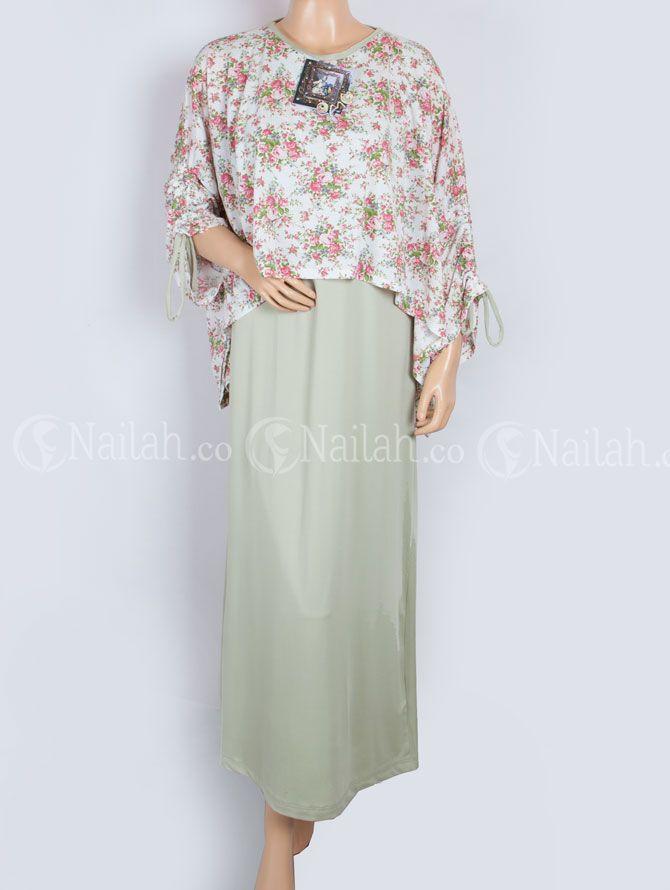 Busana Muslim OMG bahan Jersey + Kaos (motif) Harga Rp. 165.000,- Kontak: HP:081315351727 BB: 748A8C99/31327151