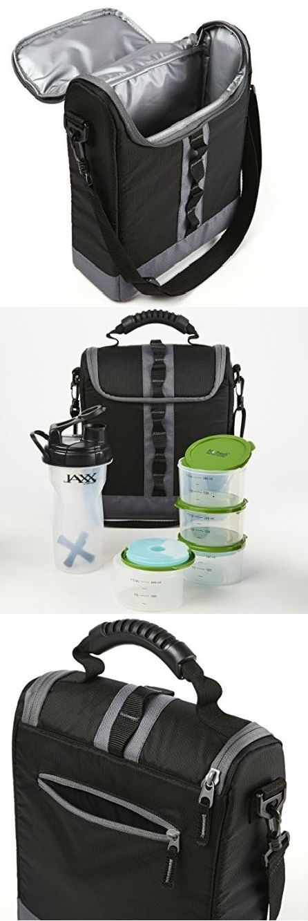 The Appalachian is a sporty and versatile bag designed to store and keep your healthy meals fresh. The Fresh Selects 1-cup container set contains (4) measurement-marked containers with lids and (2) re