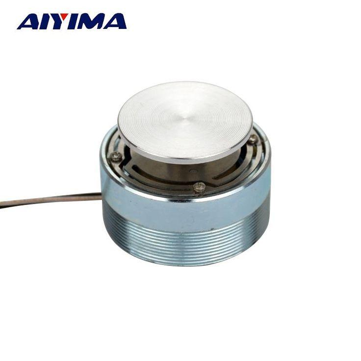AIYIMA 1pcs Full Range Speaker 20W 4ohm 44mm Audio Vibration Treble Horn HiFi Tweeter Unit Resonance Speaker Stereo Loudspeaker