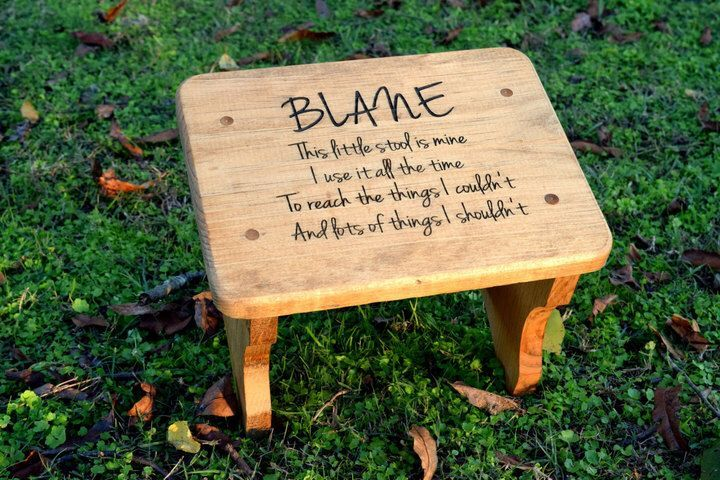 Cool Etsy Personalized Kids Stepping Stool Rustic Decor Pdpeps Interior Chair Design Pdpepsorg