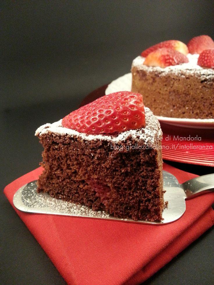 Torta al Cioccolato Fondente Senza Glutine, Latticini e Uova