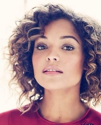 Antonia Thomas - Harrods Magazine (Cute style for when my hair grows back)