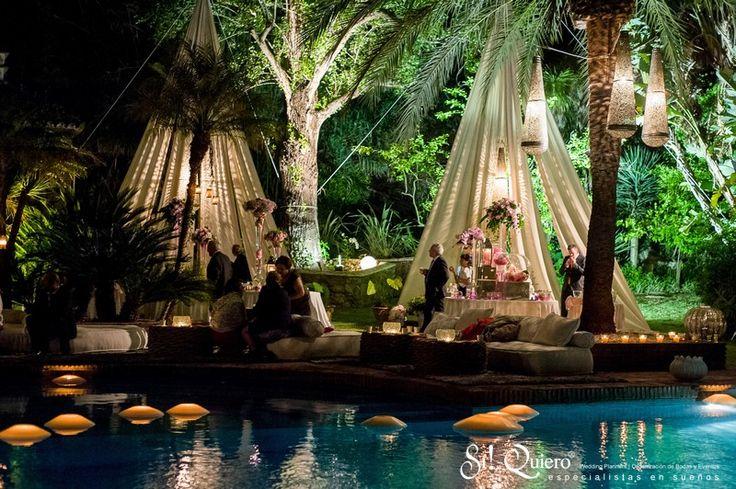 Decoracion chill out elegant villa wedding sotogrande - Decoracion chill out ...