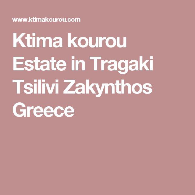 Ktima kourou Estate in Tragaki Tsilivi Zakynthos Greece