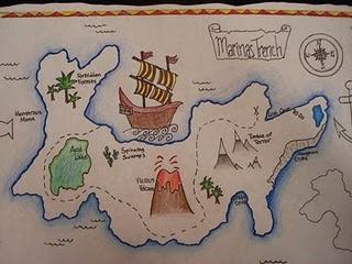 Pirate Treasure Maps