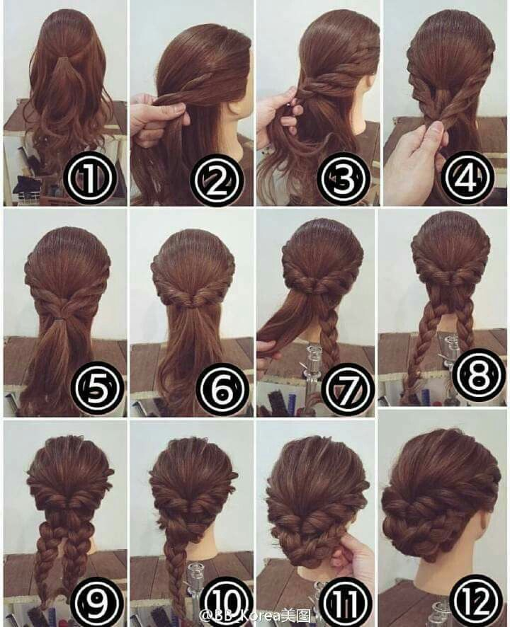 Simple and elegant updo