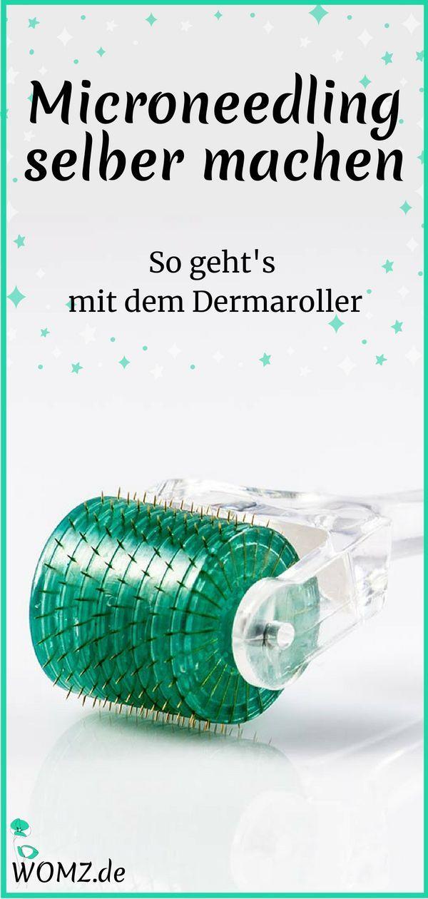 Microneedling selber machen: So geht's mit dem Dermaroller – WOMZ