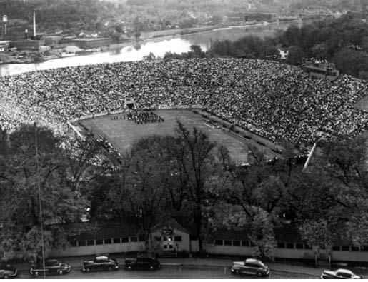 Sheilds Watkins Field Neyland 1948 StadiumTennessee FootballVintage FootballTennessee VolunteersFieldsUniversityColleges