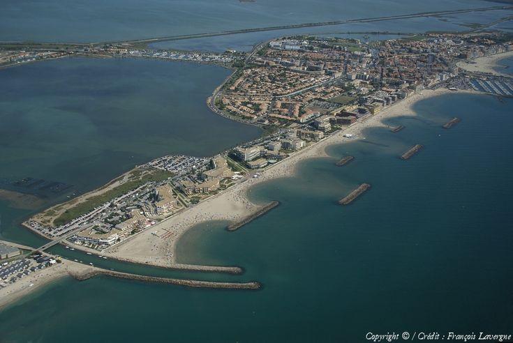 Photo aérienne de : Palavas-les-Flots - Hérault (34)