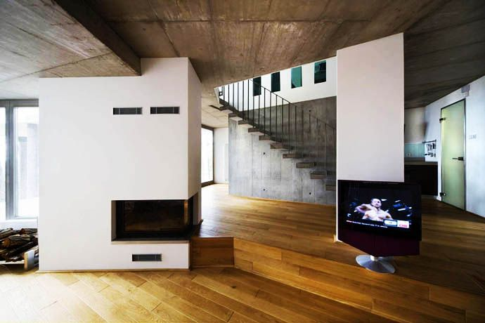 le corbusier villa savoye interior inspiration for. Black Bedroom Furniture Sets. Home Design Ideas