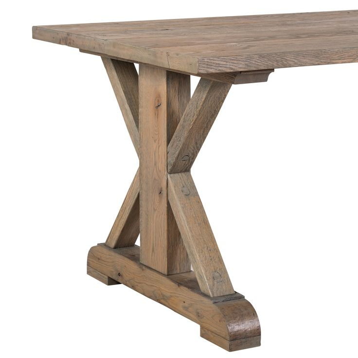 The Cross Table is a beautiful Solid Oak Dining Table in a range of sizes. Made from solid European Oak.