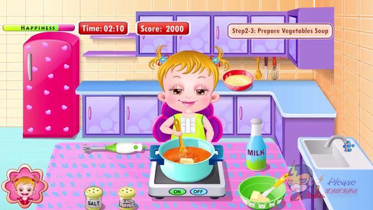 ღ Baby Hazel Kitchen Time Fun Full Best Baby Games || Child Android Game-play Video https://youtu.be/Q-lhamUt7ng