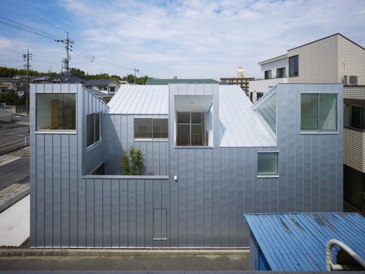 "Complex House by Tomohiro Hata ""Location: Nagoya, Aichi, Japan"" 2011"
