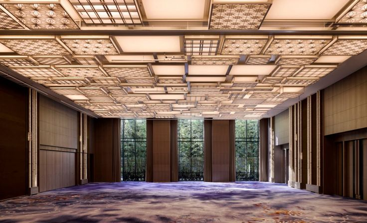 Ballroom at the Four Seasons Kyoto by HBA Design.