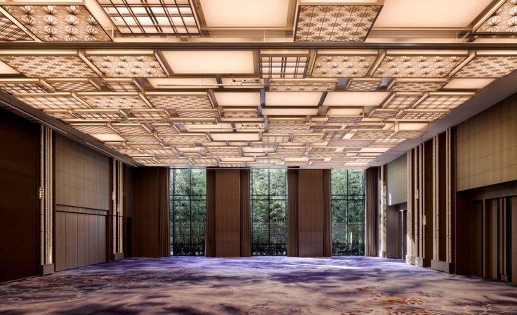 Ballroom at the Four Seasons Kyoto by HBA Design.