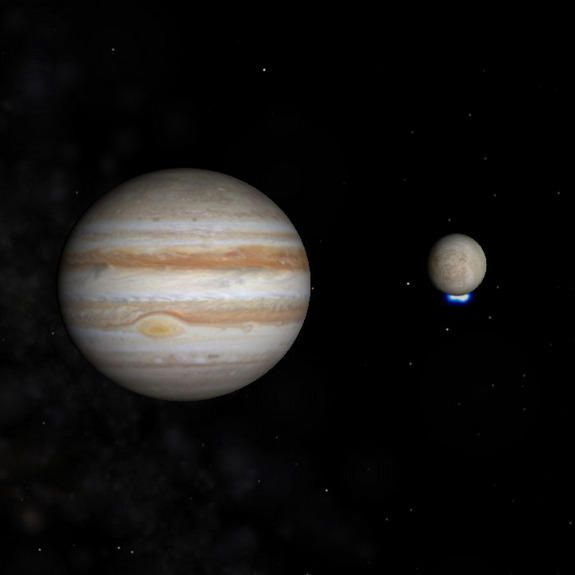 Jupiter Moon Europa May Have Water Geysers Taller Than Everest