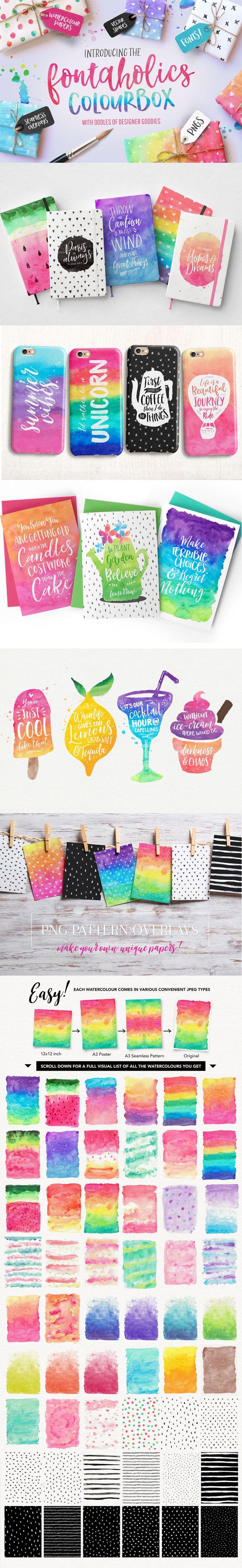 Summer beach scene vector stock vector colourbox - Say Hello To The Fresh New Fontaholics Colourbox Designer S Pack A Designer S Dream