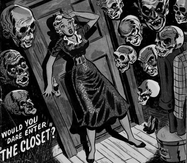 vintage horror clipart - photo #8